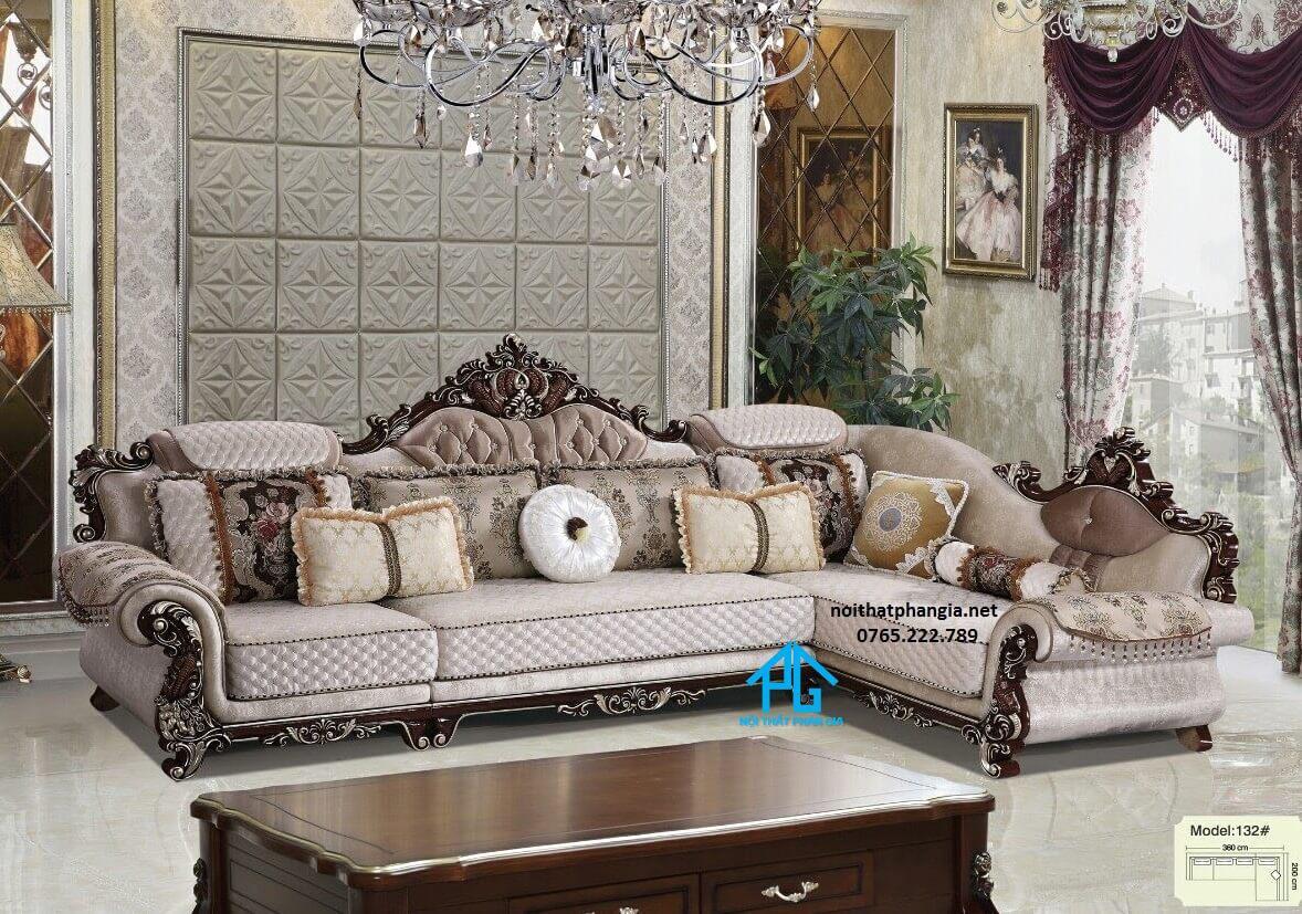 ghế sofa đài loan tân cổ điển cao cấp;