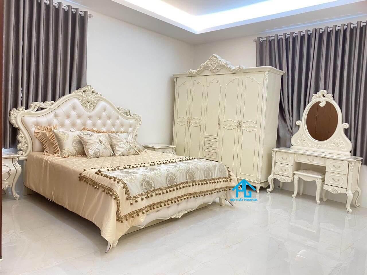 Gia Nguyên giường tủ phòng ngủ chất lượng Lâm Đồng;