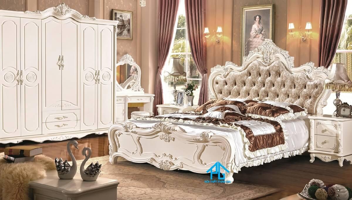 giường ngủ cổ điển tại cần thơ