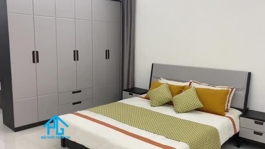 giường tủ bình dương gỗ tự nhiên;