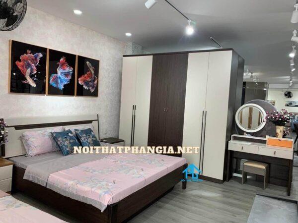 giường tủ hiện đại AB8864C