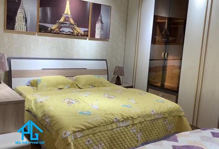 hòa phát nội thất giường ngủ tủ quần áo thủ dầu một;