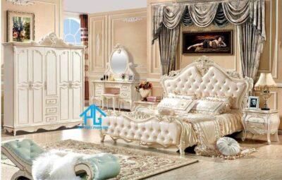 Kim Lang bộ giường ngủ cao cấp tri Tôn An Giang