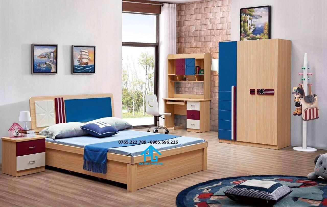 Nội thất Chú Bảy - combo giường tủ phòng ngủ giá rẻ Đồng Nai
