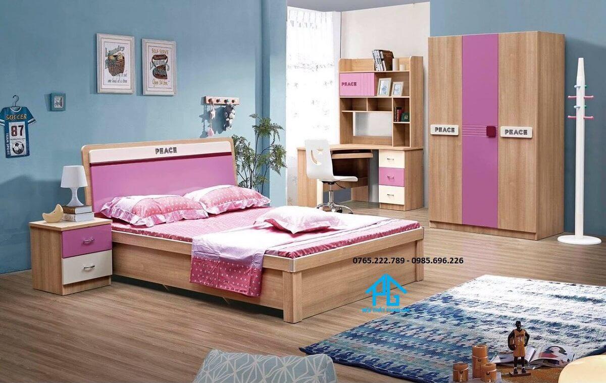 nội thất giường ngủ cờ đỏ;