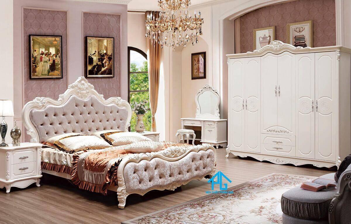 nội thất phan gia combo giường tủ giá rẻ Đà Nẵng