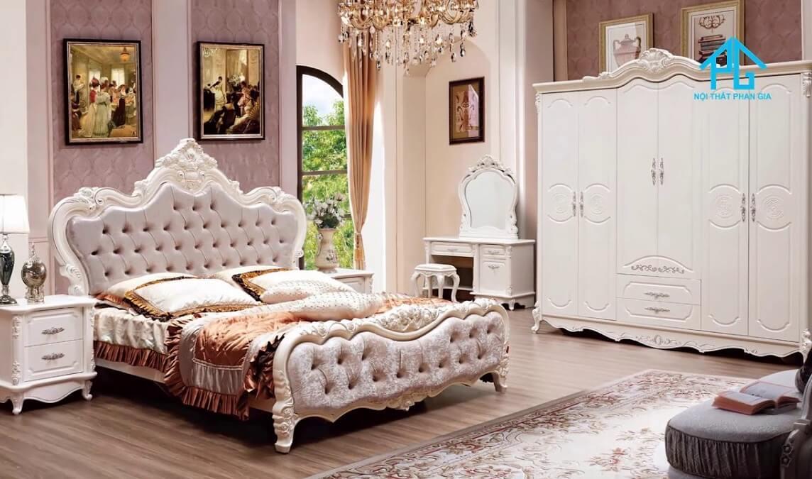 phan gia xưởng sản xuất giường tủ tiền giang