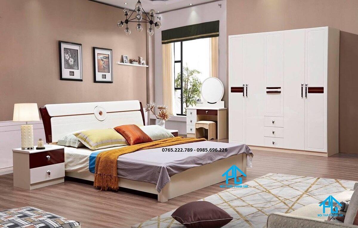Phúc Dương giường ngủ gỗ MDF cao cấp tại đồng tháp;
