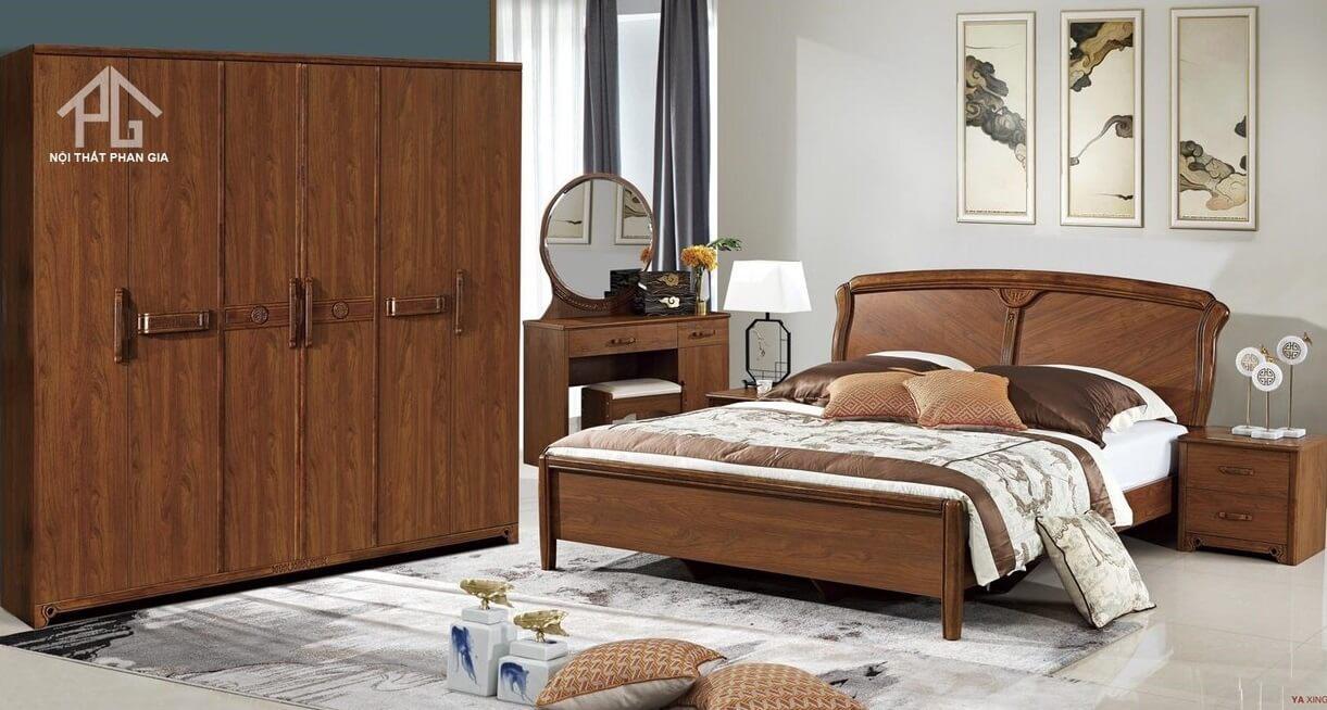 phước lộc giường tủ phòng ngủ cao cấp cái bè;