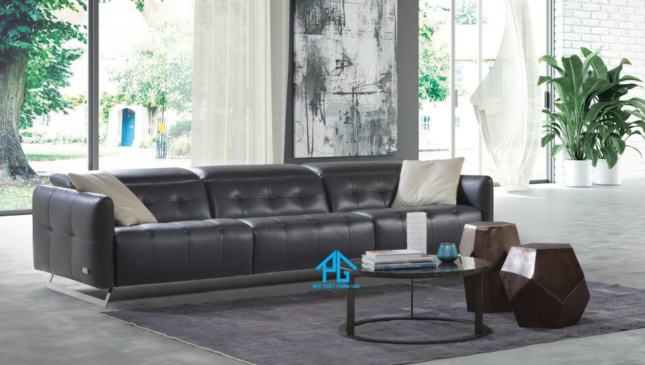 sofa da cao cấp nhập khẩu tphcm