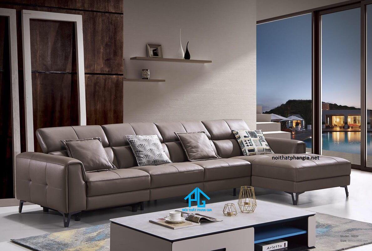 sofa da đài loan cao cấp;