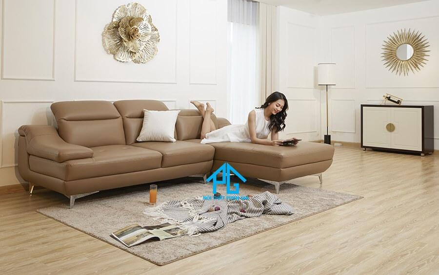 sofa vải giả da malaysia