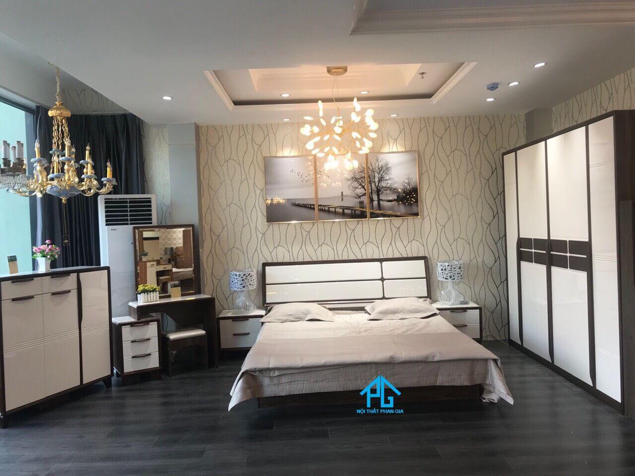 sơn đông giường tủ gỗ sang trọng mỹ tho;