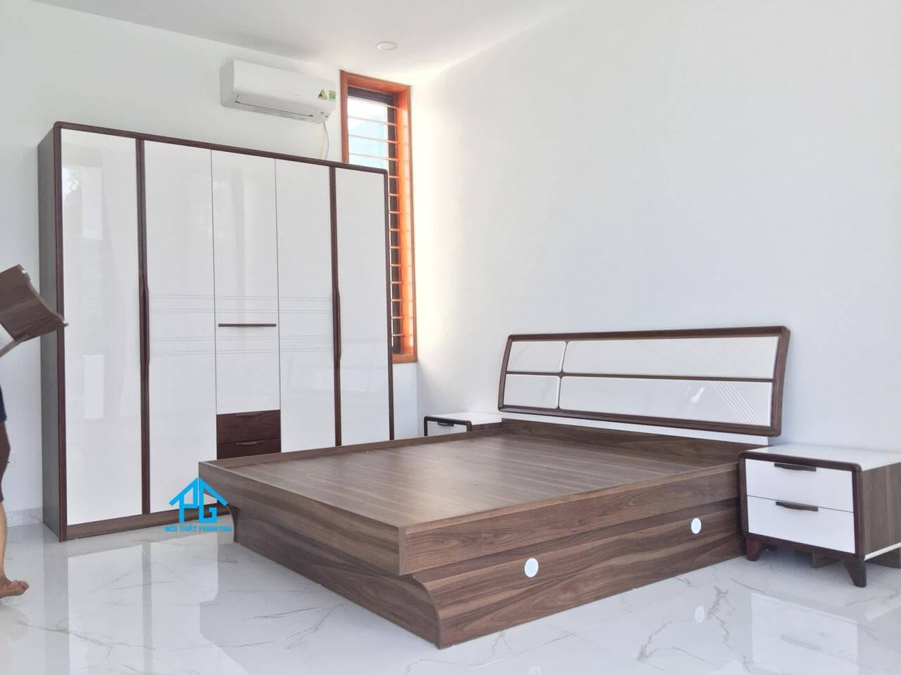 Tiến Lực cung cấp sản phẩm giường tủ phòng ngủ lâm hà