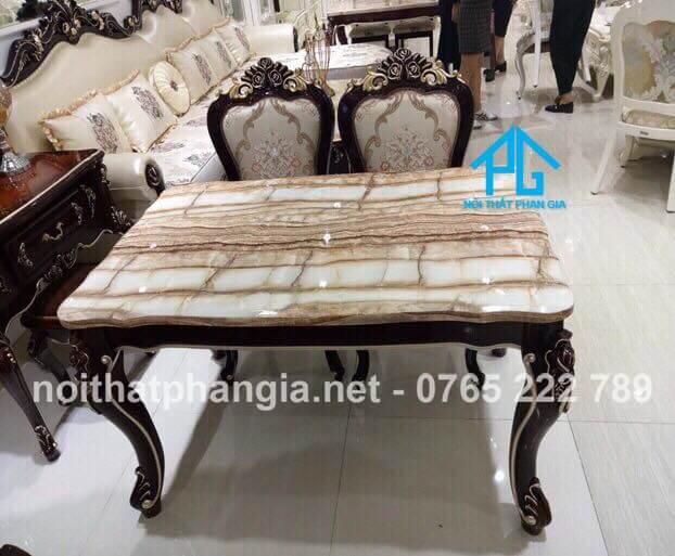 Xu hướng bàn ăn mặt đá nhân tạo gốc thạch anh trong nội thất