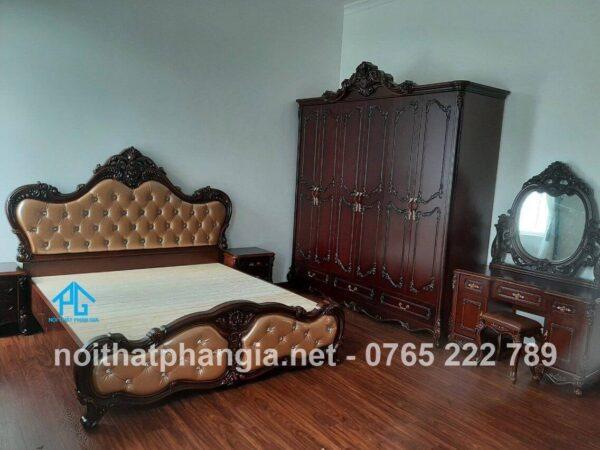 Bộ giường ngủ cổ điển AB8898