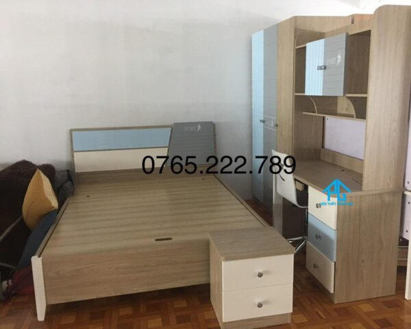 bộ giường tủ bé trai PG9902C tphcm