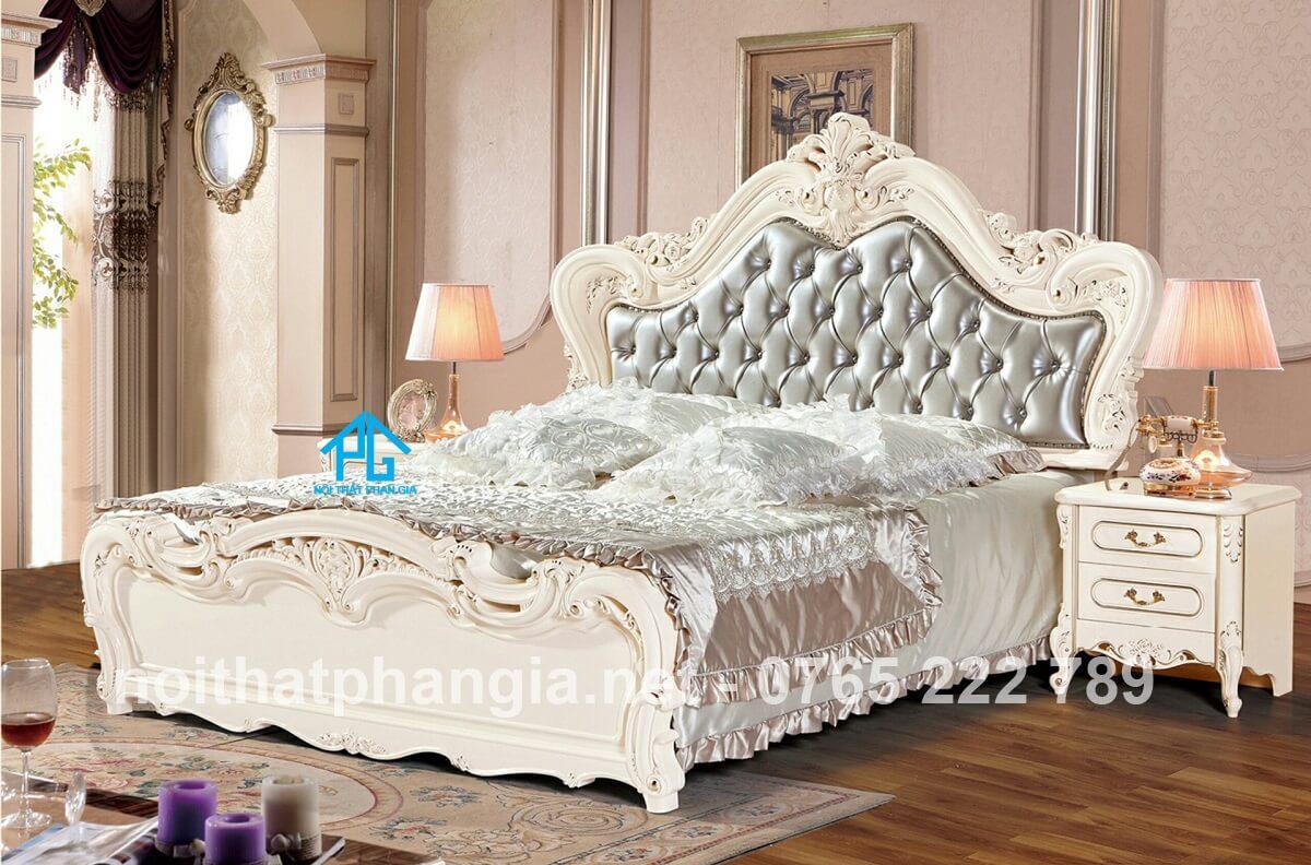 bộ giường tủ tân cổ điển giá rẻ;