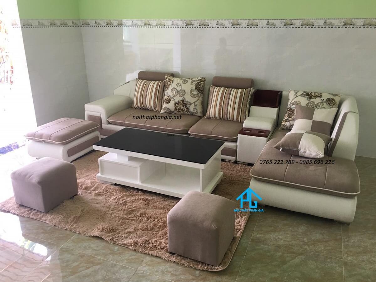 ghế đôn sofa hình vuông