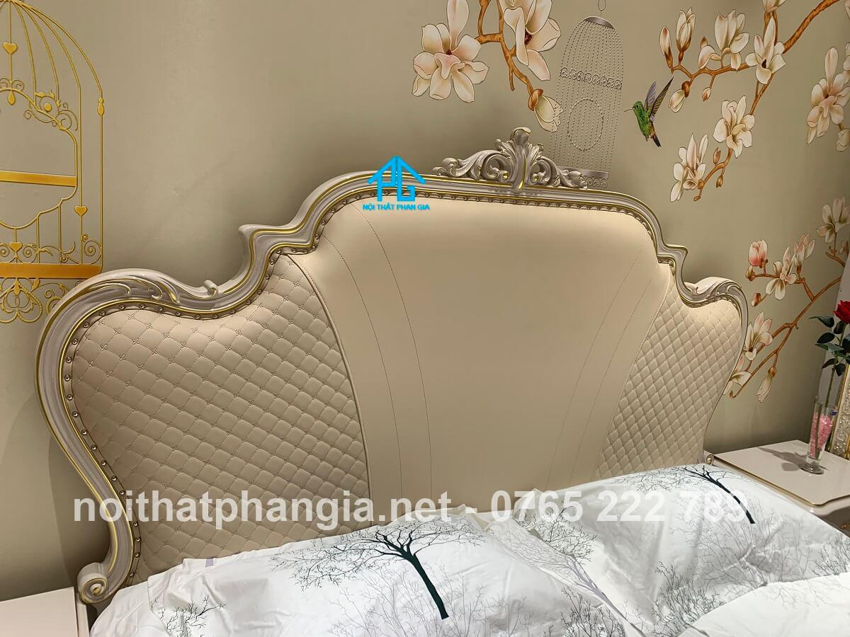 giường ngủ MA005 gỗ công nghiệp