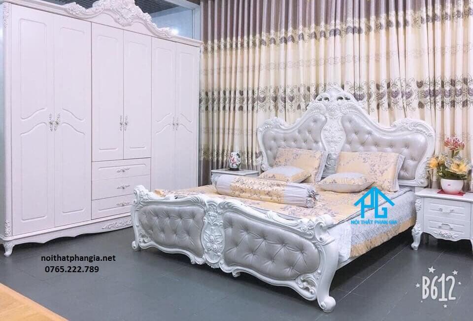 giường tủ cưới tân cổ điển;