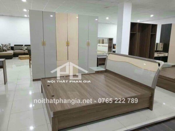 giường tủ phòng ngủ gỗ công nghiệp tp8369