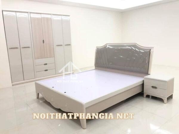 giường tủ phòng ngủ tân cổ điển 667