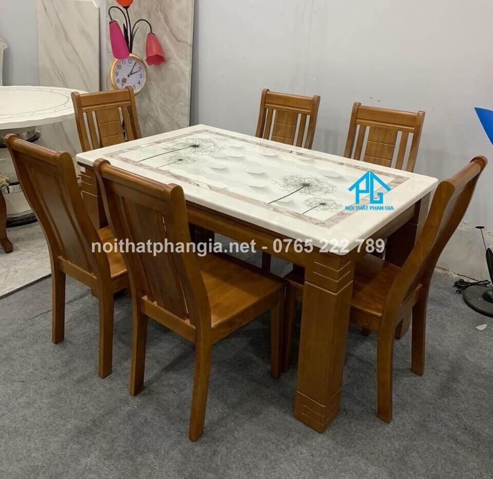 kích thước chuẩn cho bộ bàn ghế ăn