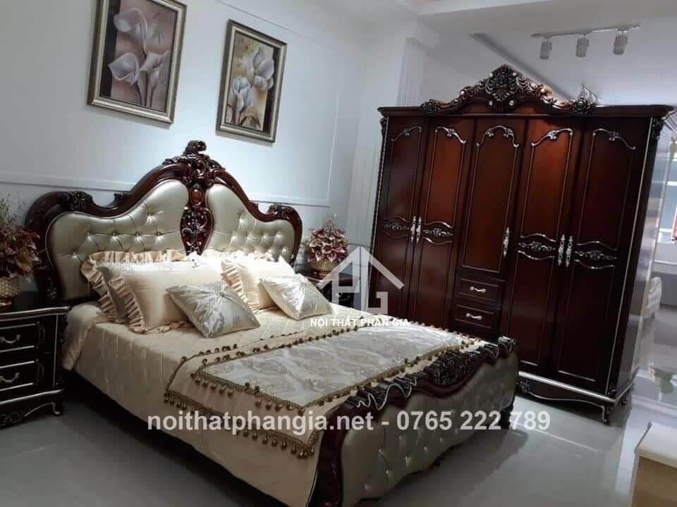 mẫu giường tủ phòng ngủ Đắk Nông bán chạy
