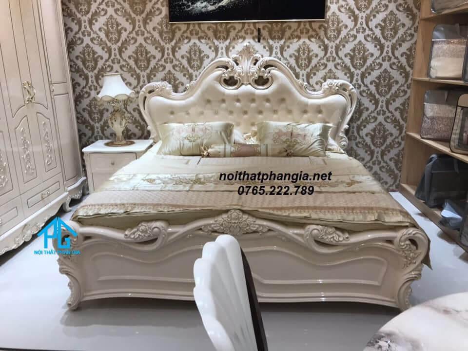 mua giường tủ ngủ tân cổ điển ở đâu;