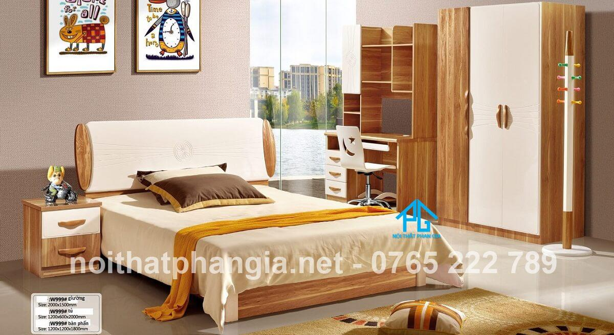 nội thất phan gia combo giường tủ bạc liêu giá rẻ