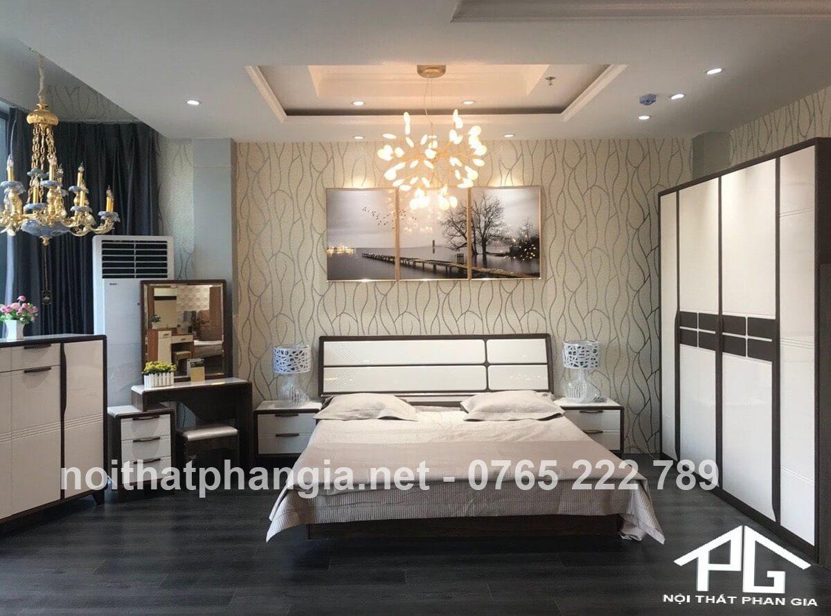 Nội thất Thiên Vũ - giường tủ phòng ngủ đa dạng Lộc Ninh