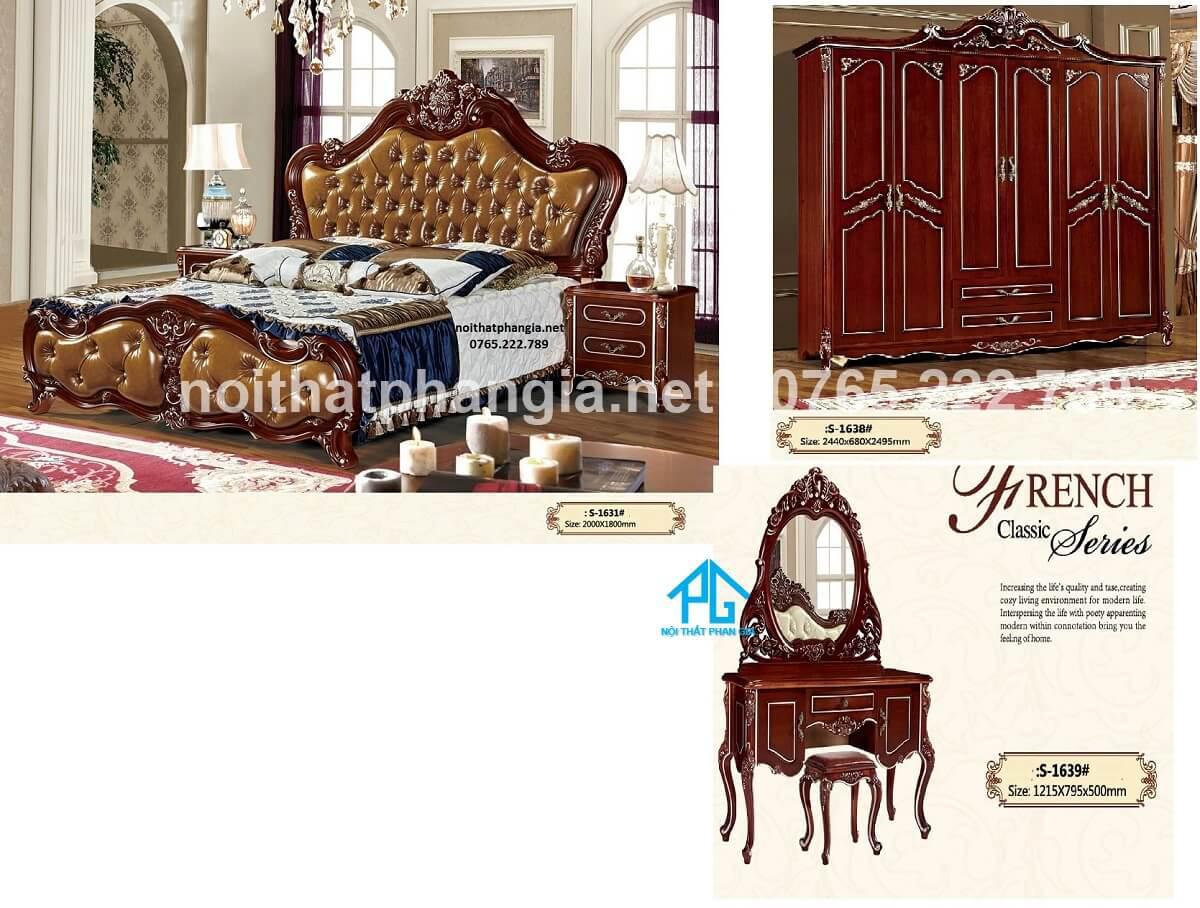 Phú Vinh giường tủ gỗ cao cấp phú vinh bạc liêu