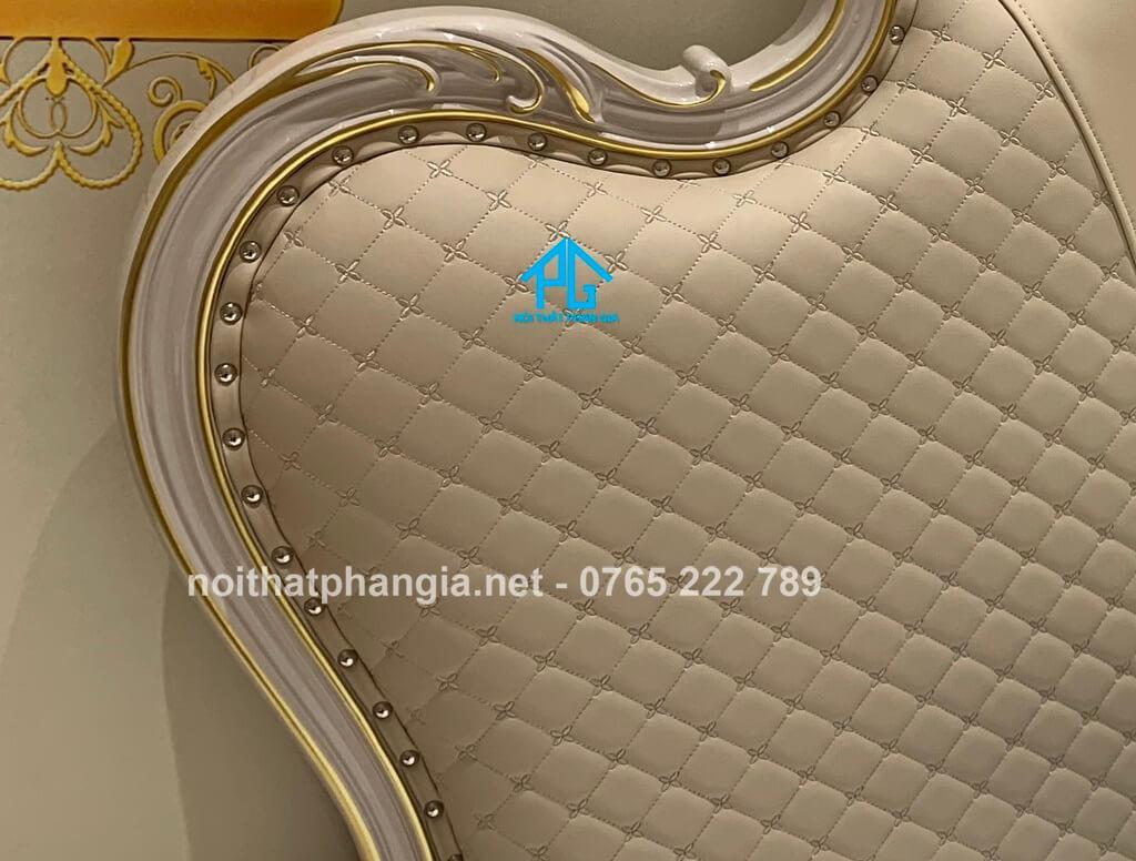 thành giường bọc nệm MA005