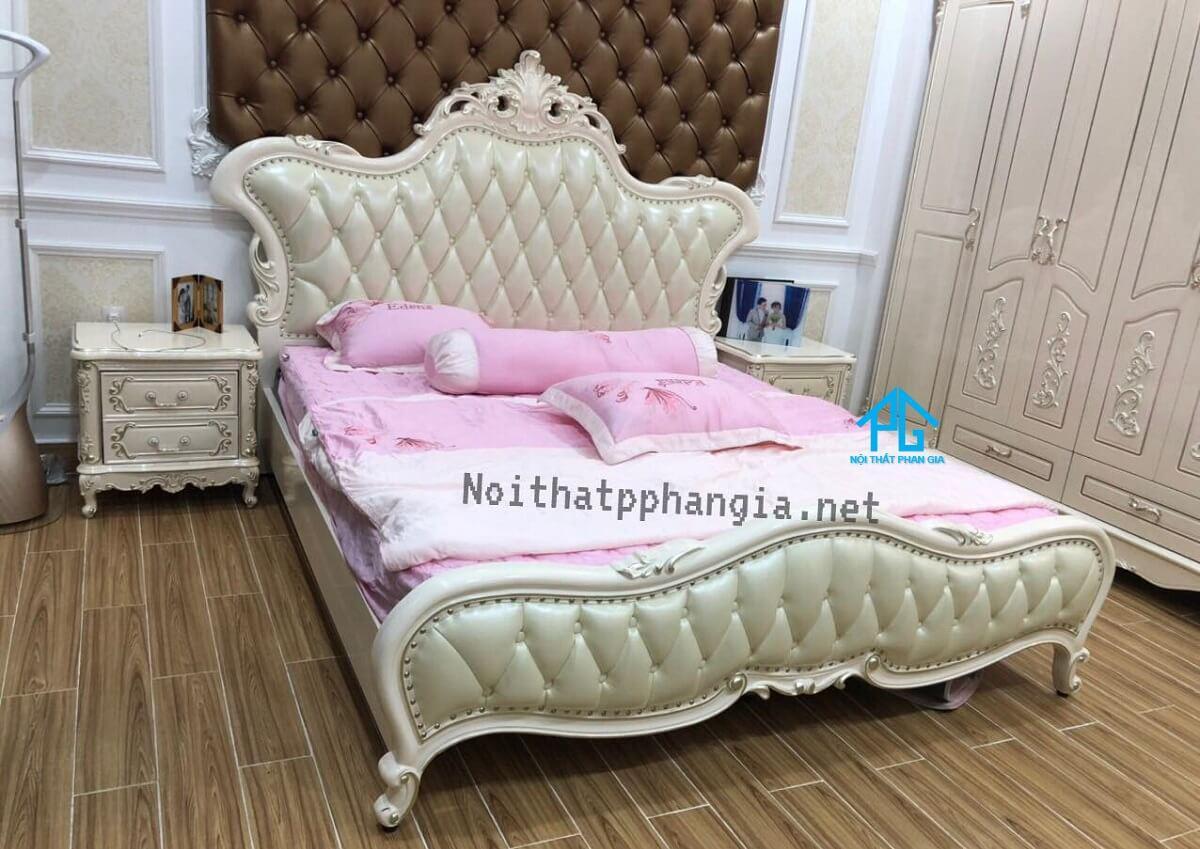 top bộ giường tủ tân cổ điển cao cấp;