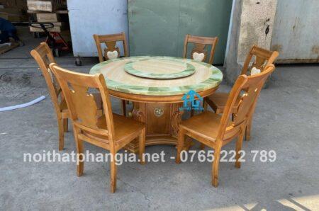 bàn ăn nhập khẩu ba04