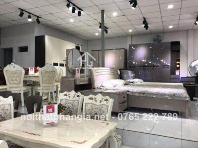 Cửa hàng nội thất giường tủ giá rẻ Long An