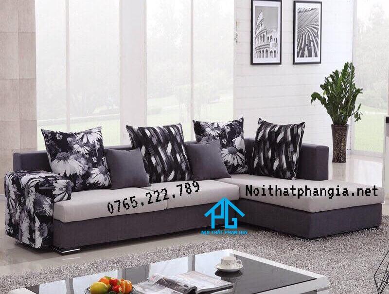 khuyến mãi sofa vải chất lượng;