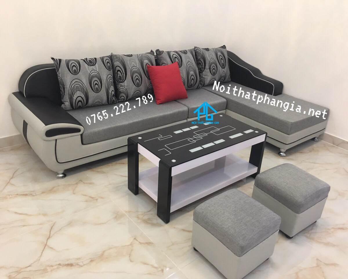 mua sofa vải hiện đại;