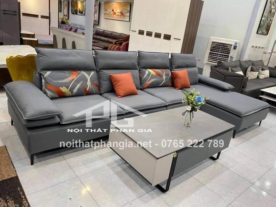 sofa da đẹp chất lượng tp hcm;