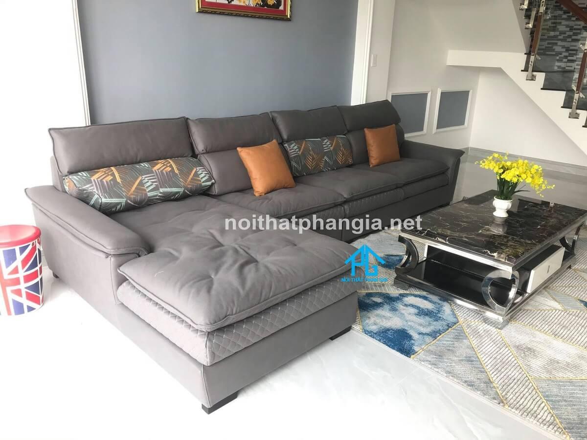 sofa da nhập khẩu hàn quốc san trọng;