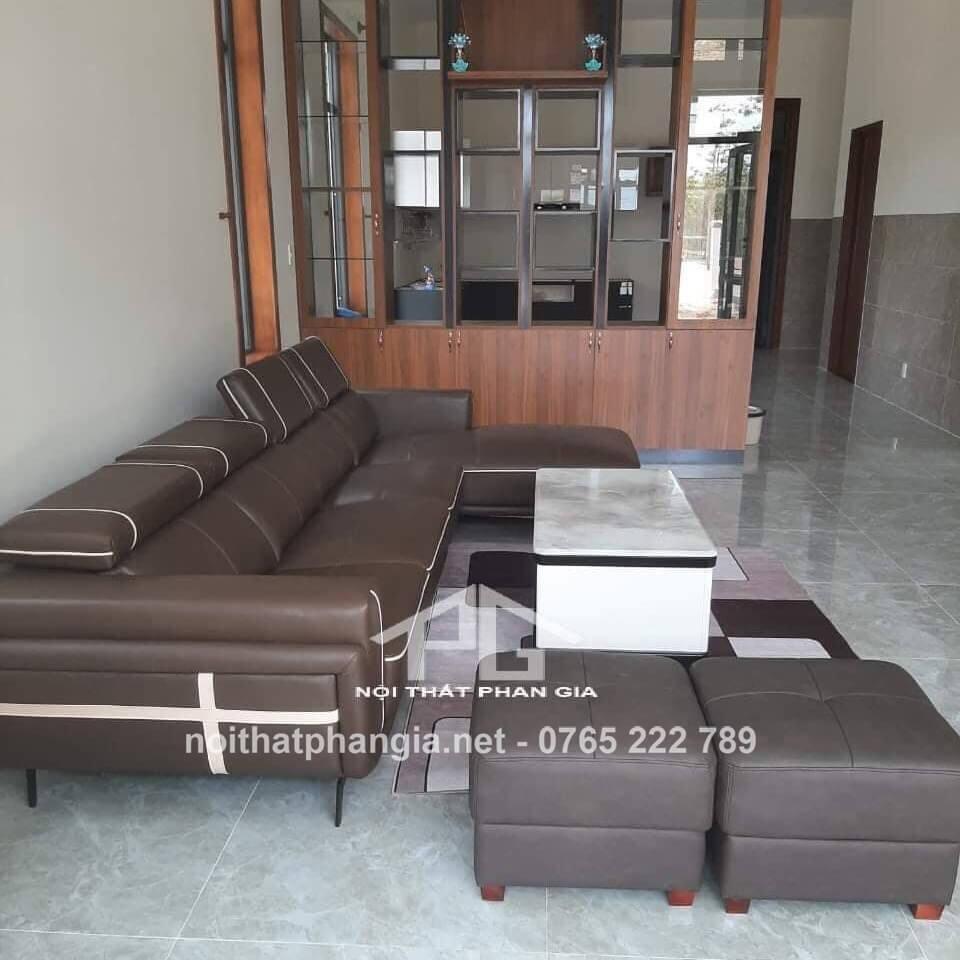 sofa da nhập khẩu nhật bản chất lượng;