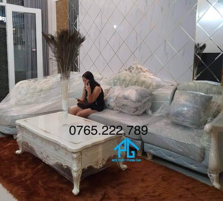 sofa tân cổ điển góc L tốt nhất;