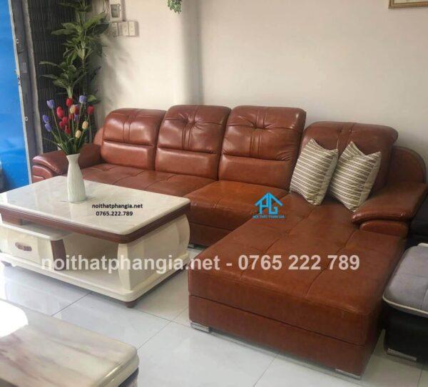 chất liệu sofa màu da bò là gì