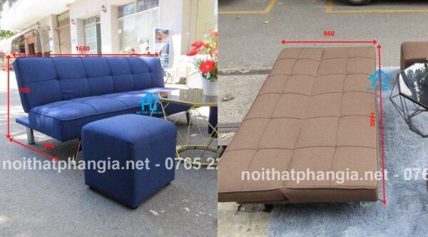 kích thước ghế sofa bed giường