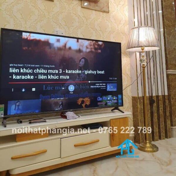 kích thước kệ tivi phổ biến