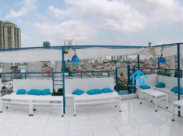 sofa cafe sân thượng