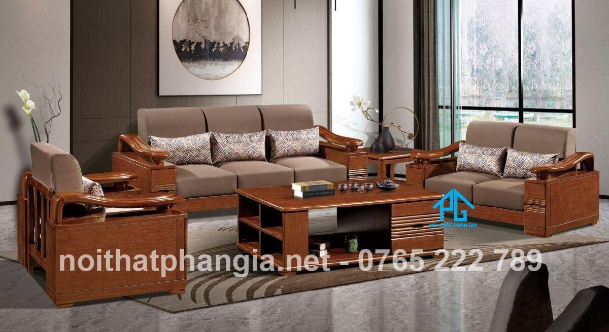 Sofa gỗ nhập khẩu pg963