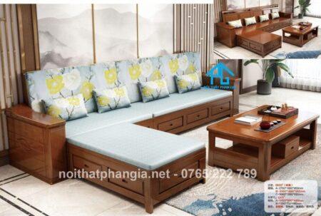 Sofa gỗ phòng khách pg6603