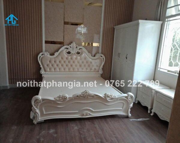 Thế giới đồ gỗ Phong Lâm - giường tủ gỗ thịt Châu Thành